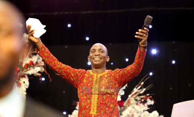 Pastor Paul Enenche of Dunamis distributes food, others to less privileged
